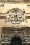 Facade in Valletta, Malta Stock Photography