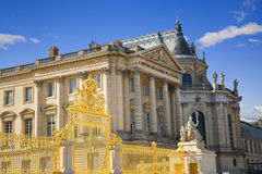 Facade of Versailles Chateau Stock Photography