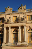 Facade of Versailles Palace Royalty Free Stock Images