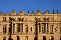 Facade of Versailles Palace Stock Photography