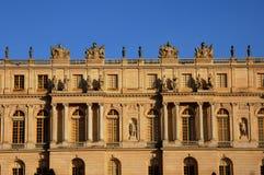 Facade of Versailles Palace Stock Photography