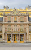 The facade of Versailles Palace in France Royalty Free Stock Images