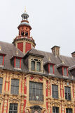 Facade - Vieille Bourse - Lille - France Royalty Free Stock Image