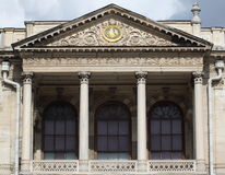 Facade view of dolmabahçe palace Stock Image
