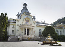 Facade View Of The Sinaia Casino Stock Photography