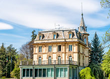 Facade of Villa Taranto, Verbania, Italy. Royalty Free Stock Photos