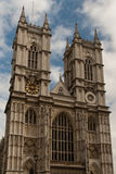 A facade of Westminster abbey. Royalty Free Stock Photos