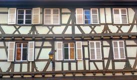 Facade with windows Royalty Free Stock Photos