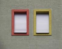 Facade windows Royalty Free Stock Photography