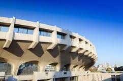 Facade of Yoyogi National Gymnasium, Tokyo, Japan Stock Images