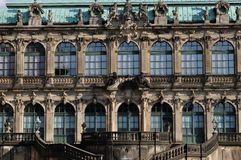 Facade of zwinger, dresden Royalty Free Stock Image