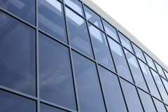 facadeexponeringsglas Royaltyfri Foto