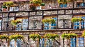 facadehotell Royaltyfria Bilder
