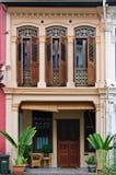 facadehus Royaltyfri Foto