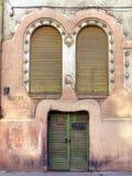 facadehus royaltyfri fotografi
