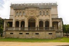 facadelateralmuseum Royaltyfri Bild