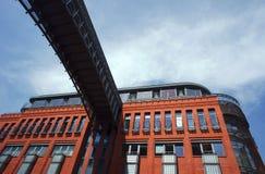 facadepoznan townhouse fotografering för bildbyråer
