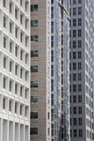 Facades. Of office buildings in SAn Francisco Royalty Free Stock Photography