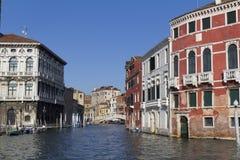 Facades along the Grand Canal (Venice) Stock Photography