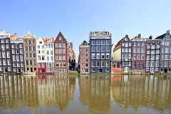 Facades in Amsterdam the Netherlands Stock Image