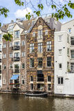 Facades in Amsterdam, Netherlands. Royalty Free Stock Photography