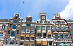 Facades in Amsterdam, Netherlands. Stock Photography