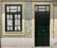 Facades Aveiro Portugal royalty free stock photo