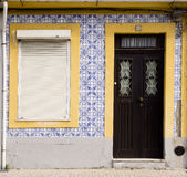 Facades Aveiro Portugal royalty free stock images