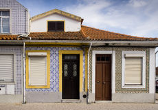 Facades Aveiro Portugal Royalty Free Stock Photography
