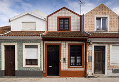 Facades Aveiro Portugal Stock Photos
