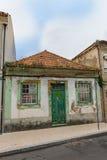 Facades of Aveiro, the portuguese venice.  Portugal. Stock Image