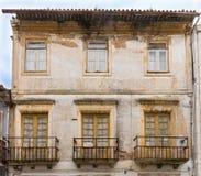 Facades of Aveiro, the portuguese venice,  Portugal. Stock Photography
