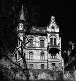 Facades Cityscape of Tubingen Schwarzwald germany royalty free stock photos