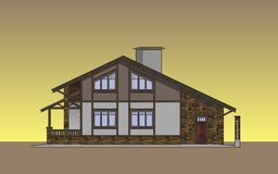 Facades Cottage Royalty Free Stock Images