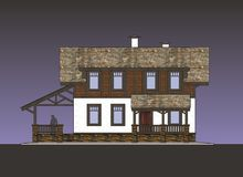 Facades Cottage Stock Photo
