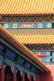 Facades of the Forbidden City no.1 Royalty Free Stock Photography