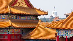 Facades of the Forbidden City no.2 Royalty Free Stock Photography