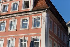 facades at historical city Stock Images