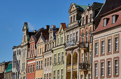 Facades of houses in the Old Market Square Royalty Free Stock Images