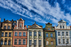 Facades of houses in the Old Market Square Stock Photo