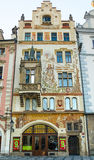 The facades of houses in the Old Town Royalty Free Stock Photography