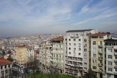 Facades of Istanbul Stock Photo