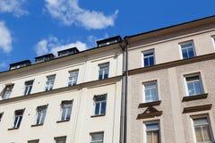 facades arkivfoto