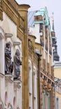 Facades in old Tallinn, Estonia Royalty Free Stock Photos