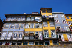 Facades in Porto Stock Images
