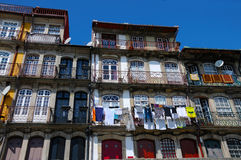 Facades in Porto Royalty Free Stock Photography