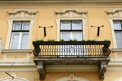 Facades of town Eger Royalty Free Stock Photography