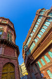 Facades of traditional Haveli in Bikaner, Rajasthan Stock Photo
