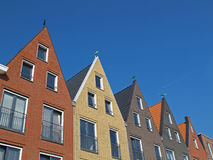Facades at vathorst Stock Images