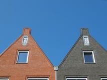 Facades at vathorst Royalty Free Stock Photo